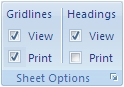 אפשרות להדפסת קווי רשת