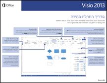 מדריך התחלה מהירה של Visio 2013