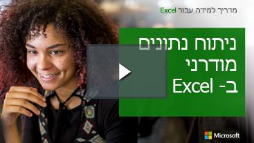 אישה חיוך, מדריך למידה עבור Excel