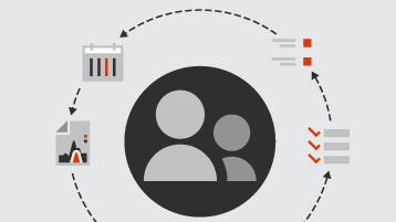 סמלים עבור לקוחות, רשימות ודוחות
