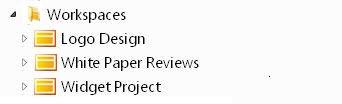 סביבות עבודה של SharePoint Workspace 2010
