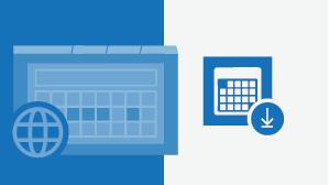גיליון הוראות של לוח שנה של Outlook באינטרנט