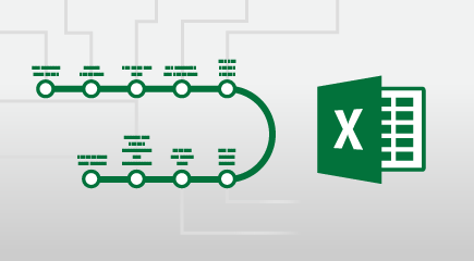 פוסטר הדרכה של Excel 2016
