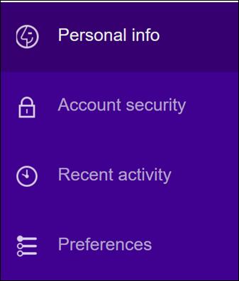 שינוי הגדרות האבטחה של חשבון Yahoo