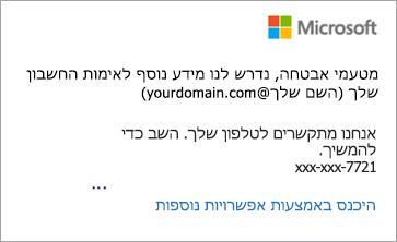 בדוק את הודעות הטקסט שלך והזן את הקוד בן 6 הספרות.