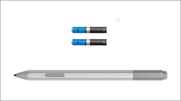 עט Surface וסוללות