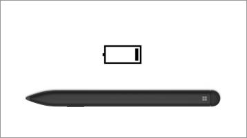 סמל Surface Slim Pen וסוללה