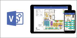 Visio Viewer עבור iPad ו- iPhone