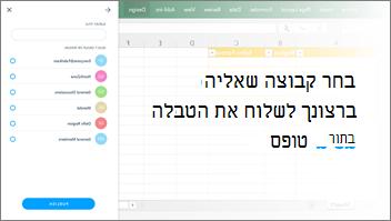 צילום מסך: הקבוצה Selecta לשלוח לטבלה