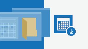 גיליון הוראות של לוח שנה של Outlook עבור Windows