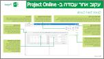 מדריך להתחלה מהירה עבור מעקב אחר עבודה ב- Project Online