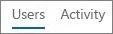 צילום מסך של תצוגת המשתמשים בדוח 'פעילות Yammer' של Office 365