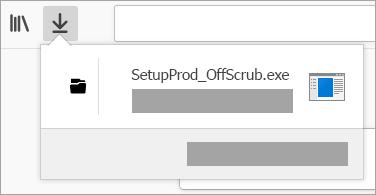 היכן ניתן לאתר ולפתוח את קובץ ההורדה של מסייע התמיכה בדפדפן האינטרנט Chrome