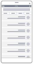 דיאגרמת מסגרת תיל של רשימה
