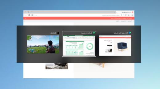 מעבר בין דפי אינטרנט פתוחים ב- Microsoft Edge באמצעות Alt + Tab
