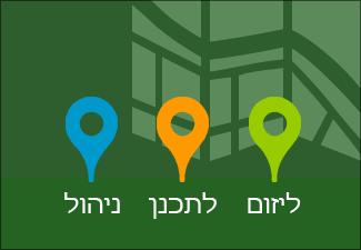 מפת הדרכים של הפרוייקט