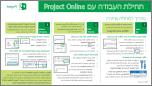 תחילת העבודה עם מדריך להתחלה מהירה של Project Online