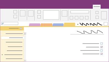 הצגת חלון שולחן העבודה של OneNote עבור Windows