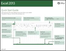 Excel 2013 त्वरित प्रारंभ मार्गदर्शिका