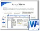 Word 2010 माइग्रेशन मार्गदर्शिकाएँ