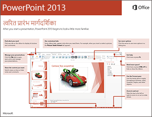 PowerPoint 2013 त्वरित प्रारंभ मार्गदर्शिका