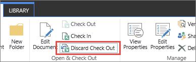 SPO दस्तावेज़ छोड़ें चेक आउट करें बटन