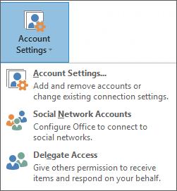 Outlook में कोई प्रतिनिधि जोड़ना का स्क्रीन शॉट