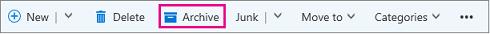 ईमेल संग्रहीत करें