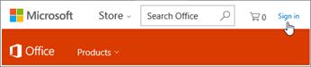Office 365 में साइन इन करें
