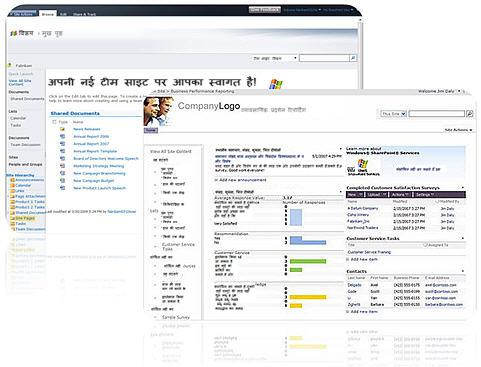 वे साइट्स, जिन्हें आप SharePoint Designer 2010 के साथ बनाते हैं