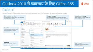 Outlook 2010 से Office 365 में स्विच करने के लिए मार्गदर्शिका हेतु थंबनेल