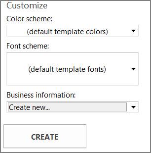 Office.com से टेम्पलेट्स के लिए पोस्टकार्ड टेम्पलेट विकल्प.