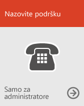 Nazovite podršku (samo za administratore)