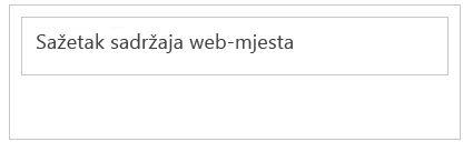 Minimizirani web-dio