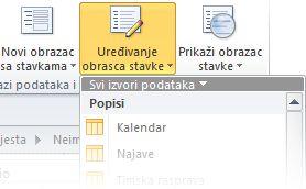 obrasci u programu sharepoint designer
