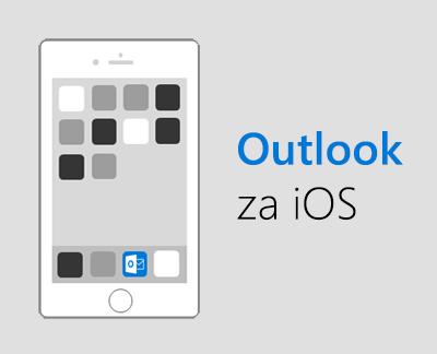 Kliknite da biste postavili Outlook za iOS