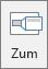 Prikazuje gumb zumiranje na kartici Umetanje u programu PowerPoint.