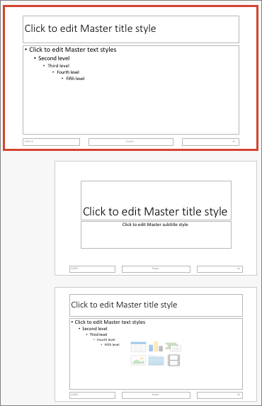 PowerPoint for Mac Slide Master