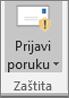 Izvješće poruke programski dodatak za Outlook