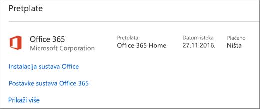 Ako je na vaš novi PC instalirana probna verzija sustava Office 365, isteći će navedenog datuma