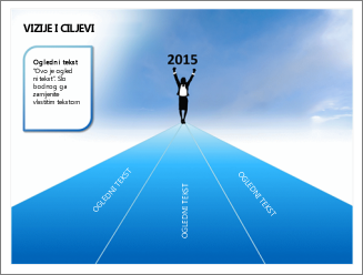 Primjer predloška programa PowerPoint