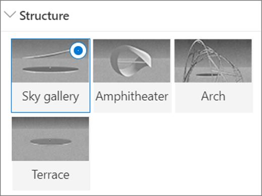 Mogućnosti strukture