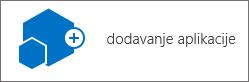Dodavanje ikona aplikacija u dijaloškom okviru sadržaj web-mjesta.