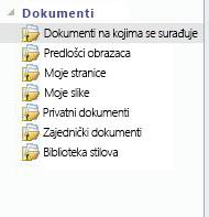Nesinkroniziranu ikonu dodan popisa u radnom prostoru sustava SharePoint