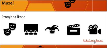 Izbor kazališnih ikona