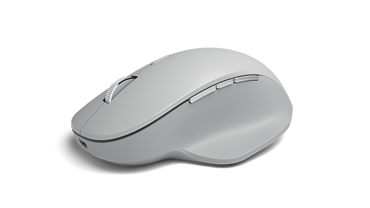 Stranica s prikazom bočne slike preciznog miša na stranu.