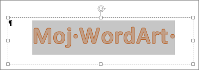 Odabrani WordArt