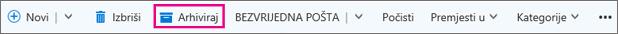 Arhiviraj e-poštu