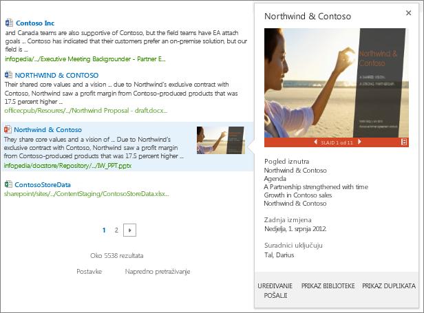 Gumb za oznake koje počinju znakom # u sustavu Windows Phone
