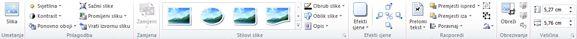 Kartica Alati za slike u programu Publisher 2010